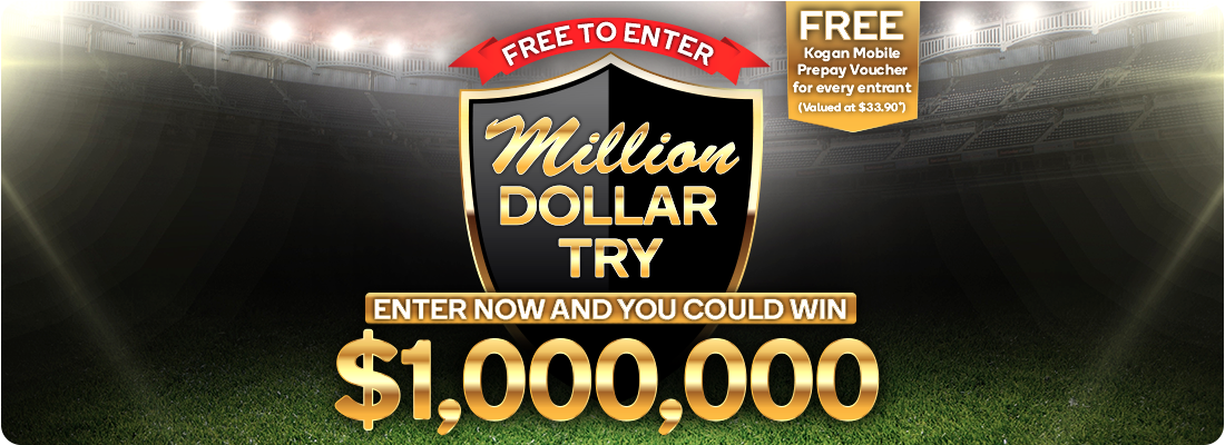 You Could Win $1,000,000 - Enter Now